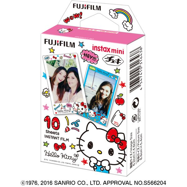 FUJIFILM Instax Mini Film Sanrio Hello Kitty 10 Sheets