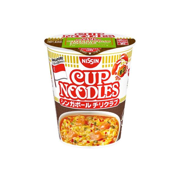 Nissin Cup noodle Singapore Chilli Crab 78g 12pieces