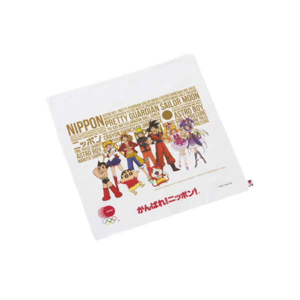TOKYO 2020 official JOC character series hand towel