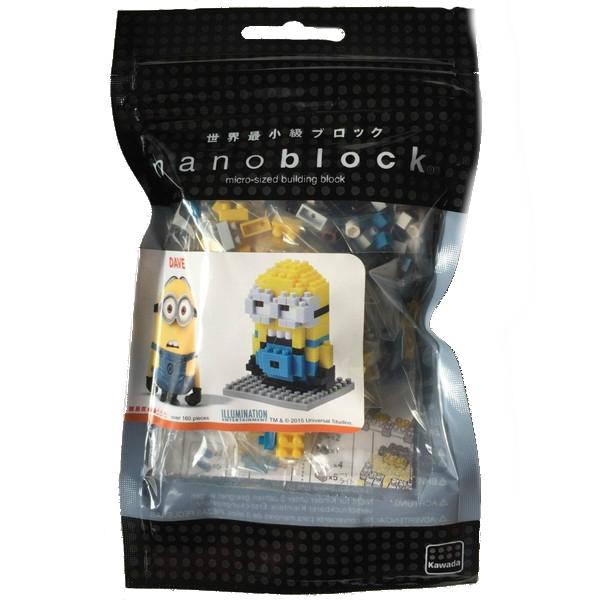 KAWADA nanoblock Minions DAVE USJ limited