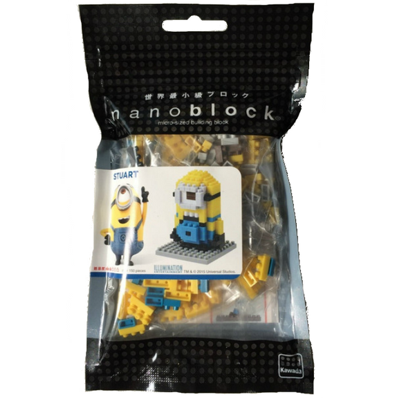 KAWADA nanoblock Minions STUART USJ limited