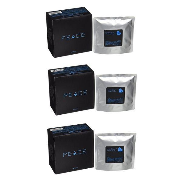 ARIMINO Peace Freeze Keep Wax 80g Refill 3 packs