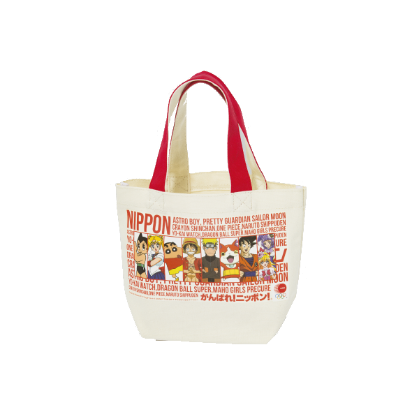 TOKYO 2020 official JOC character series lunch bag C