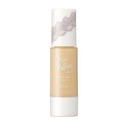 Kiss Mat Chiffon UV Whitening Base SPF26 PA++ 37g 2 colors